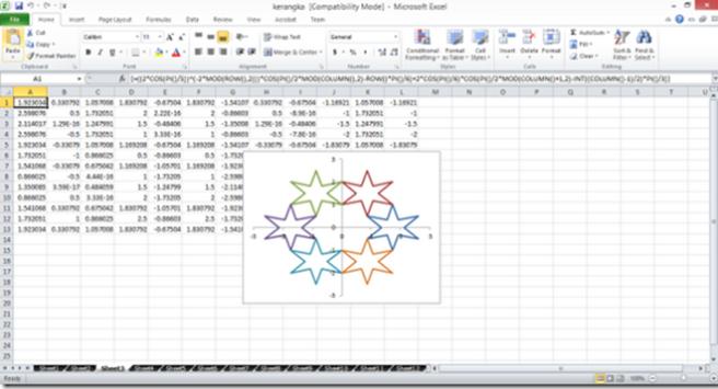 Excel 1x jebret