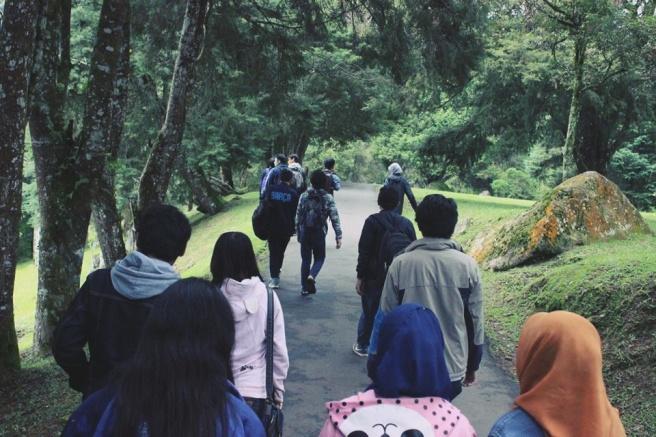 Start Perjalanan Kebun Raya Cibodas