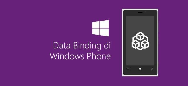 Data Binding di Windows Phone