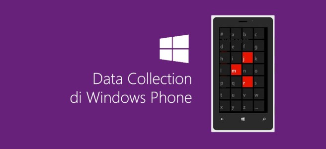 Data Collection di Windows Phone