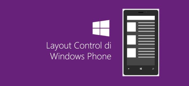 Layout Control di Windows Phone