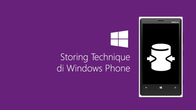 Storing Technique di Windows Phone
