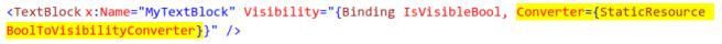 Data Binding Converter