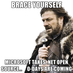 .NET open source meme