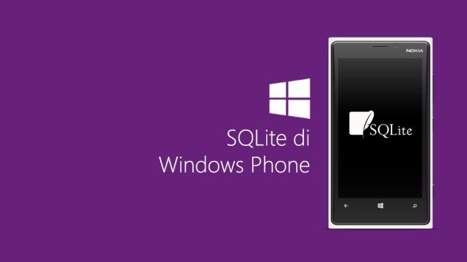 SQLite di Windows Phone
