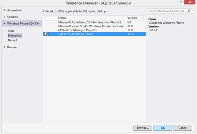 SQLite Reference