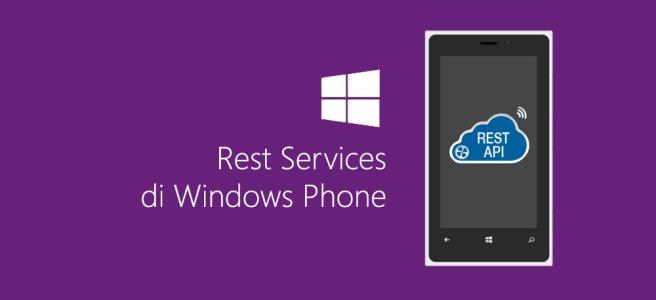 Rest Service di Windows Phone
