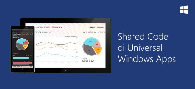 Shared Code di Universal Windows Apps