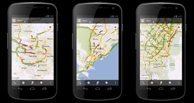 Mobile Traffic Screenshots