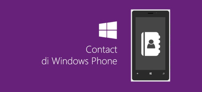 Contact di windows phone