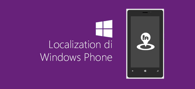 Localization di Windows Phone