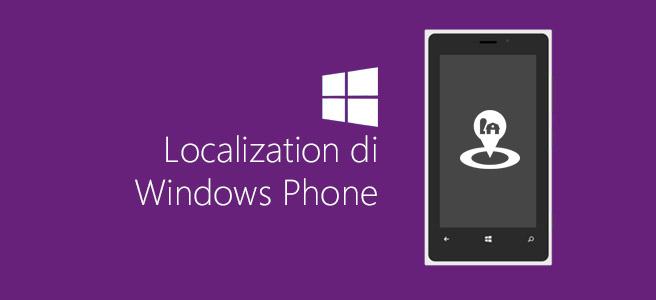 Localization di Windows Phone