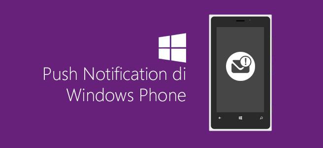 Push Notification di Windows Phone