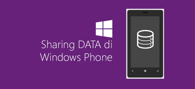 Sharing Data di Windows Phone