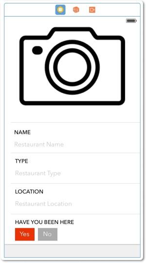 Contoh design cell sederhana untuk menambahk restaurant