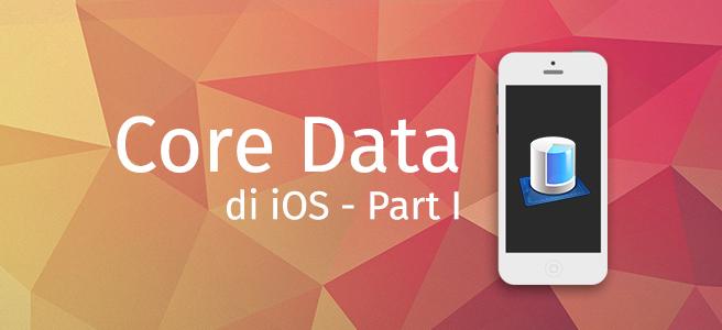 Core Data Design Cover Part I