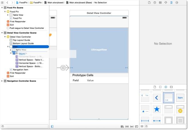 Menambahkan toolbar untuk detai view controller