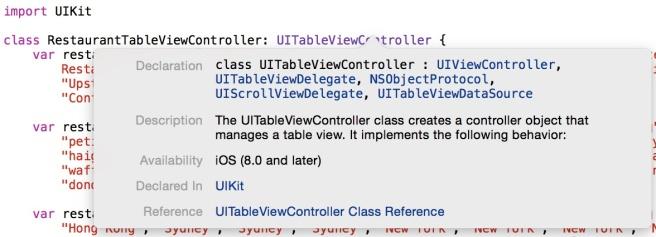 Mengakses API documentation menggunakan tombol shortcut