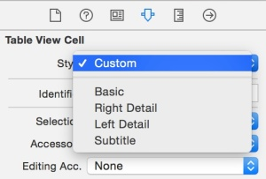 Mengganti cell ke custom style