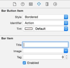 Mengganti item toolbar ke Action