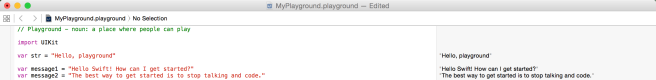 Playground Editor