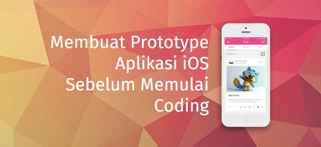 Prototype before Coding