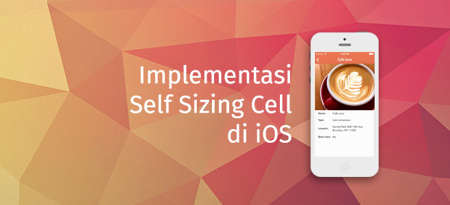 Self Sizing di iOS