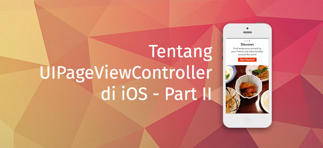 UIPageViewController Cover Part II
