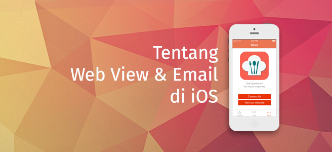 Web View dan Email di iOS