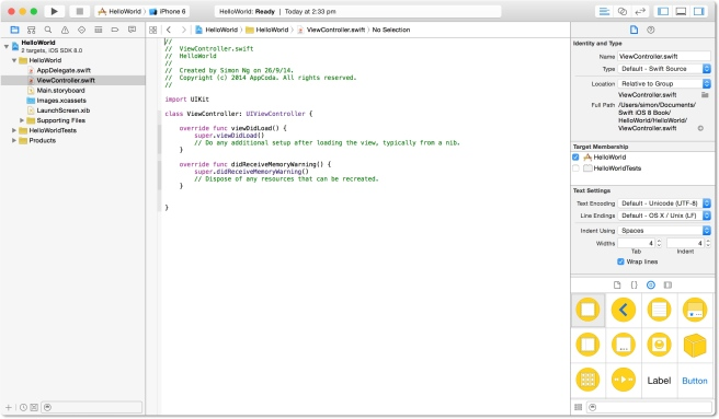 Xcode Workspace