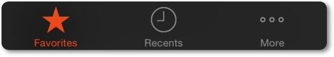 Contoh tab bar setelah di modifikasi