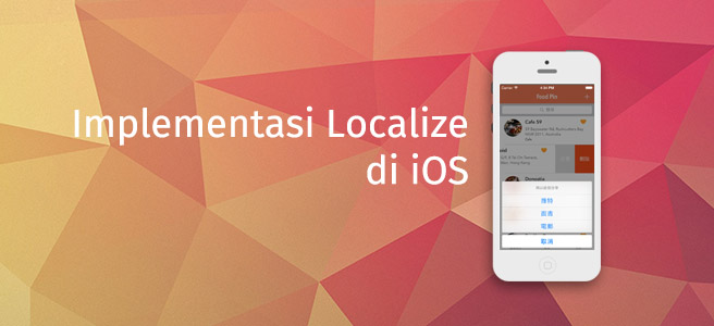 Implementasi Localize di iOS