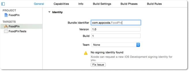 Membuat akun developer untuk project Xcode