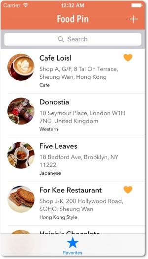 Menambahkan sebuah tambar di aplikasi FoodPin