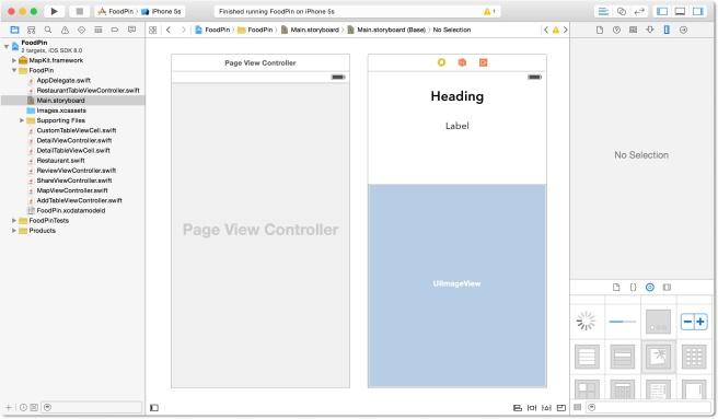 Mendesign View Controller untuk alur halaman