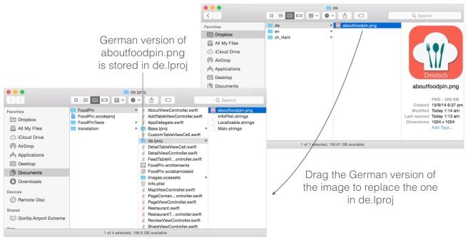 Mengcopy icon terjemahan dan menimpanya dengan icon sebelumnya