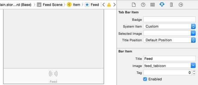 Mengganti gambar dan judul dari tab bar