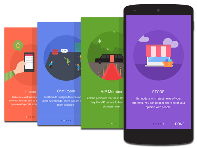 Android Flat Design copy