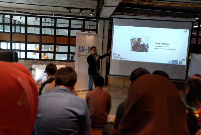 Borrys Hasian - Google UX Day Jakarta