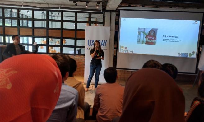 Erica Hanson - Google UX Day Jakarta