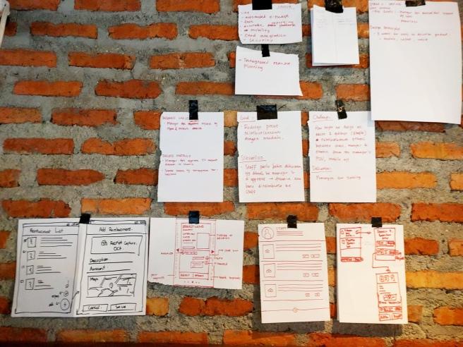 Mockup & Prototype - Google UX Day Jakarta