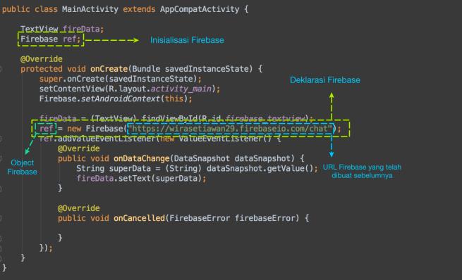 Contoh Syntax Firebase
